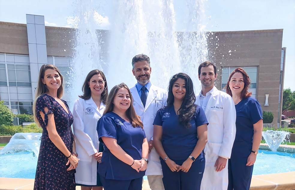 Experienced ophthalmologists at the DOC